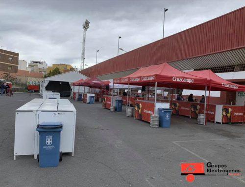 Grupos Electrógenos Almería en partido de rugby