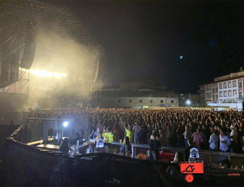 Grupos Electrógenos Almería en el concierto de Izal en Baza