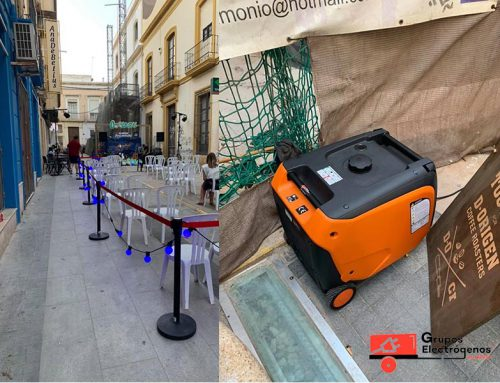 Grupos Electrógenos Almería en Ruta Gastromusical de Cooltural Fest