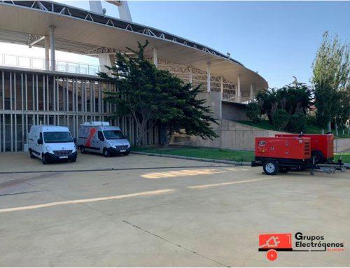 Grupo Electrógenos Almería. Retransmisión deportiva. 4/julio/2020