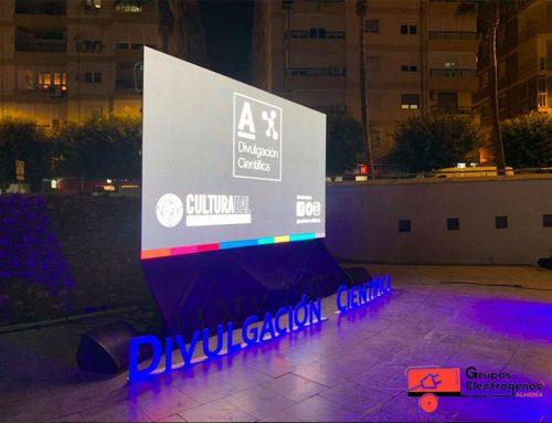 Grupos Electrógenos Almería en acto en la Rambla de Almería