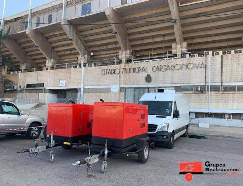 Grupos Electrógenos Almería en retransmisiones de fútbol. Septiembre 2020