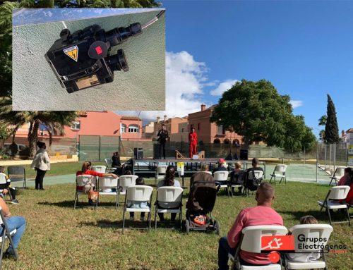Grupos Electrógenos Almería en actos culturales de Huércal de Almería